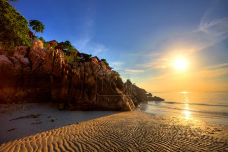 Photo for Tropical colorful sunset. Thailand - Royalty Free Image