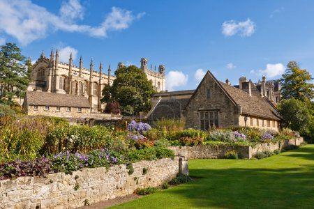 Christ Church. War Memorial Garden. Oxford, UK...