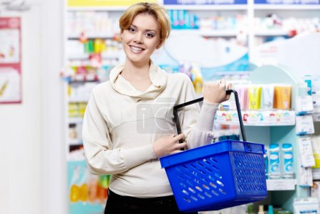 Buyer at the pharmacy