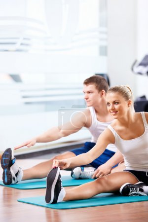 Photo for Young in the gym - Royalty Free Image