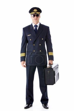 A pilot in uniform