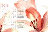 Šablona pro kalendář 2013