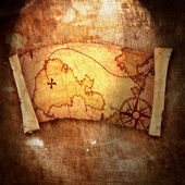 Stará mapa pokladů