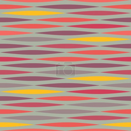 Abstract ethnic seamless mexican geometric pattern