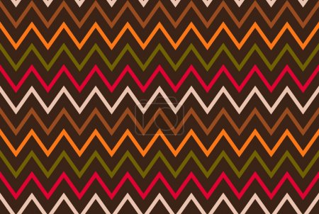 Ethnic mexican seamless abstract pattern