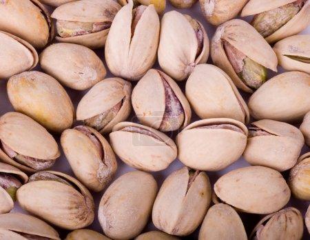 Photo pour Tas de pistaches - image libre de droit