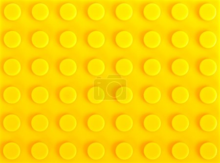 Photo for Close-up yellow plastic construction background - Royalty Free Image