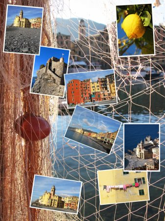 Collage of Camogli, Italy