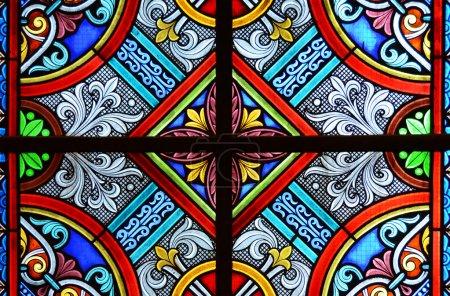 Foto de Vidrieras de una catedral - Imagen libre de derechos