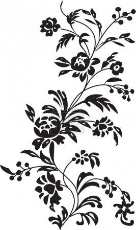 Photo pour L'illustration de fond floral - image libre de droit