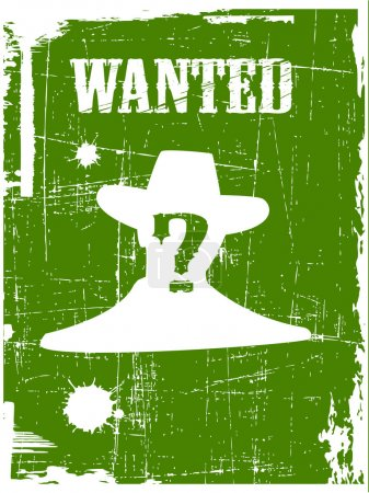 The wanted poster image
