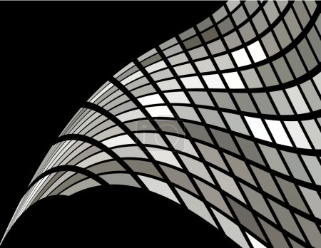 the vector silver abstract background