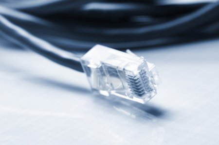 Photo for Network and patch cables - Royalty Free Image