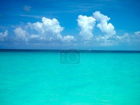 Background tropical sea