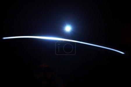 Foto de Flexible rayo de luz. - Imagen libre de derechos