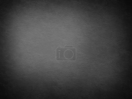 Black wall - grunge background