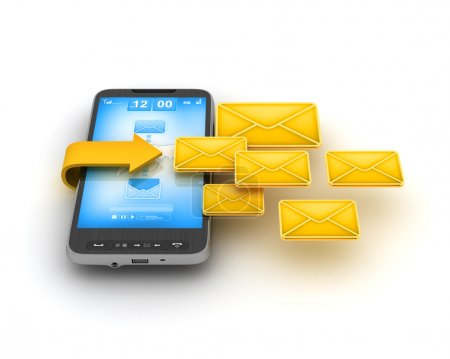 Short Message Service (SMS) - mobile technology