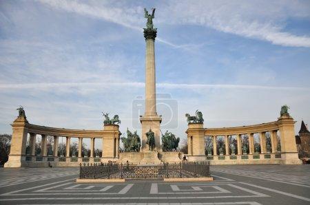 Hero`s Square in Budapest