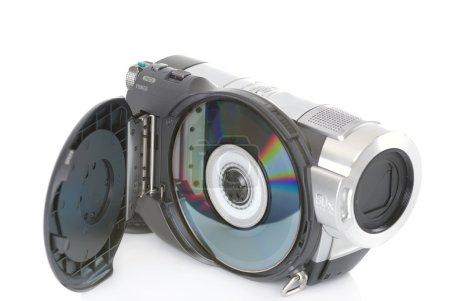 Photo pour Caméra vidéo haute définition - équipement de maison - image libre de droit