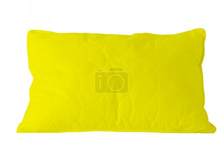 Photo for Yellow sleep pillow - Royalty Free Image