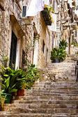 Old styles city. romane style