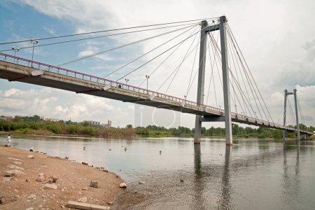 Brücke zur Insel Tatyschewa