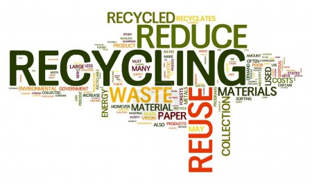 Recycling in word tag cloud
