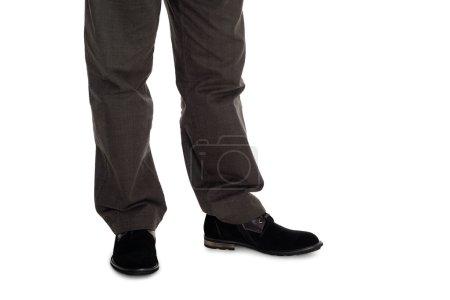 Photo pour Hommes élégants pantalon et des chaussures en daim. - image libre de droit