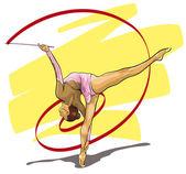 graceful gymnast Olympic sport