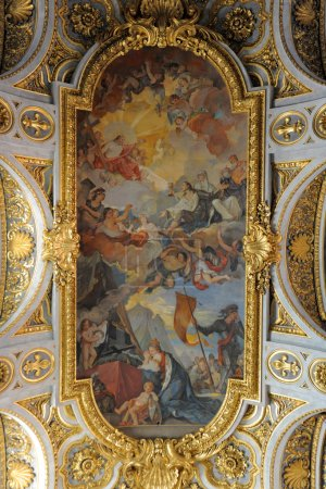 Ceiling of Saint Louis of the French