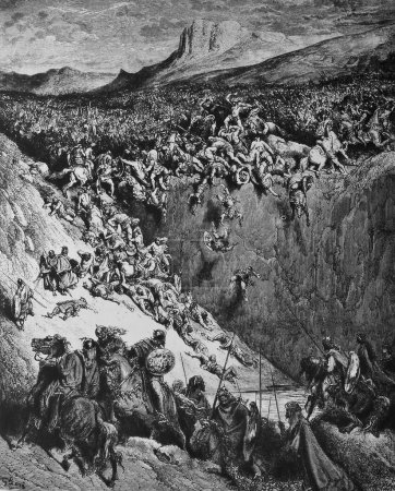 Samson crushes the Philistines.