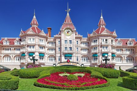 Entrance in Disneyland Paris