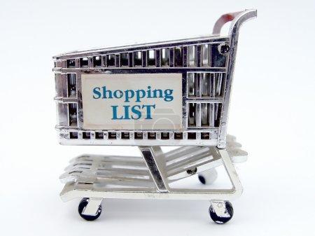 Shopping Cart Closeup