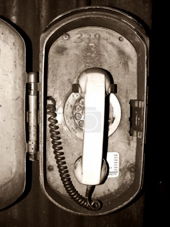 Grungy Old Telephone