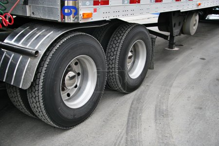Transport truck tires