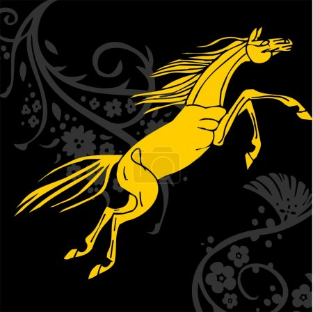 Horse design - vector illustration