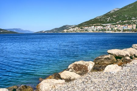 Adriatic Sea scenic view.