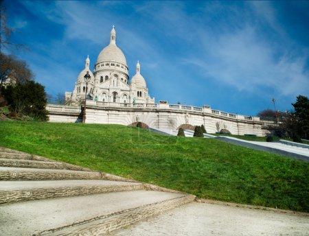 Sacred Heart in Montmartre - Paris - France