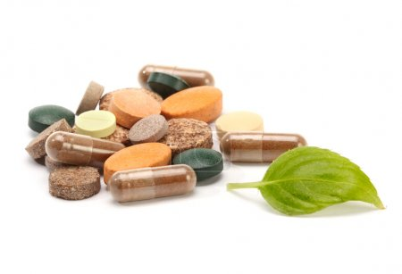 Photo for Vitamins, pills and tablets - Royalty Free Image