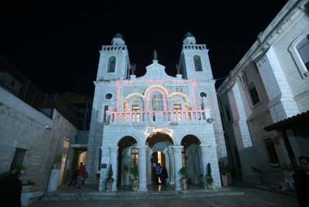 Church of Jesus' first miracle. Cana, Israel