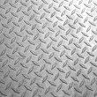 A background of old metal diamond plate.