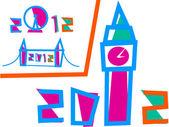 Vector - London 2012 Games Set of 3 Illustrations