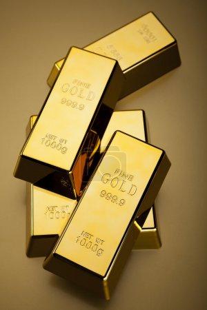 Finance Concept, Gold bar