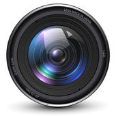 Camera photo lens vector illustration