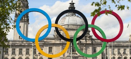 The 2012 olympic rings