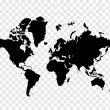 Map of world...