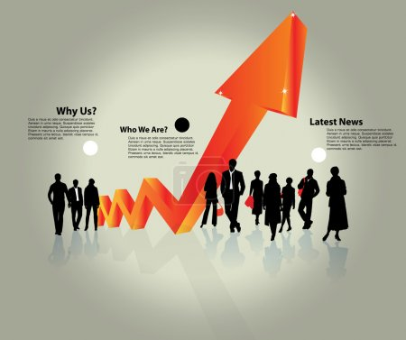 Business Abstract Background