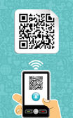 Mobile phone decoder qr code