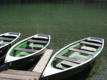 Pleasure boats at lake. Germany...