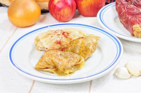 Traditional lenten fare from the Balkans - sarma